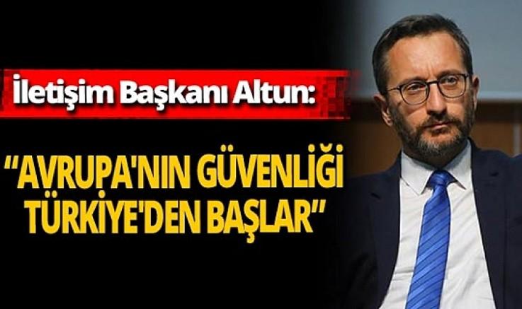 İletişim Başkanı Fahrettin Altun'dan açıklamalar!
