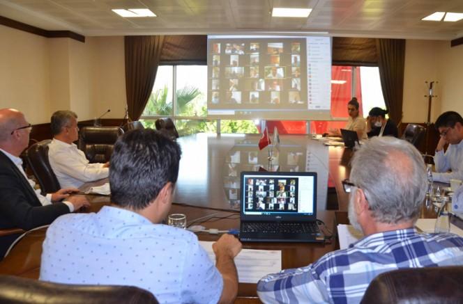 İTSO'da Mayıs Ayı Meclis Toplantısı Video Konferans Yöntemiyle Yapıldı